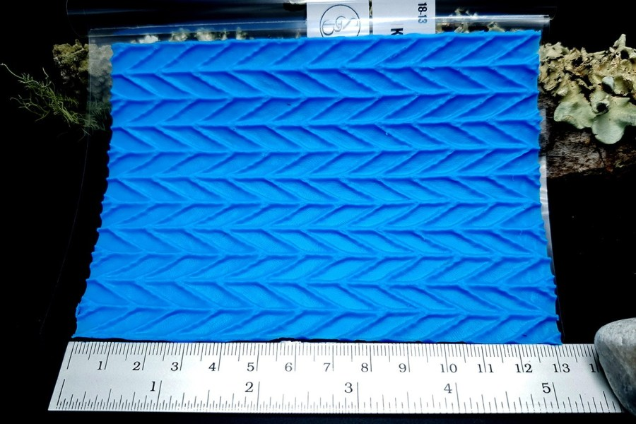 Kintted Pattern - Silicone Texture, Small Size 5
