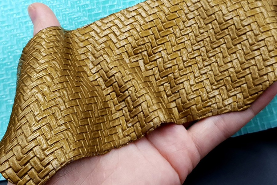 Weaving Grain Leather 2 - Silicone Texture, Small Size 2