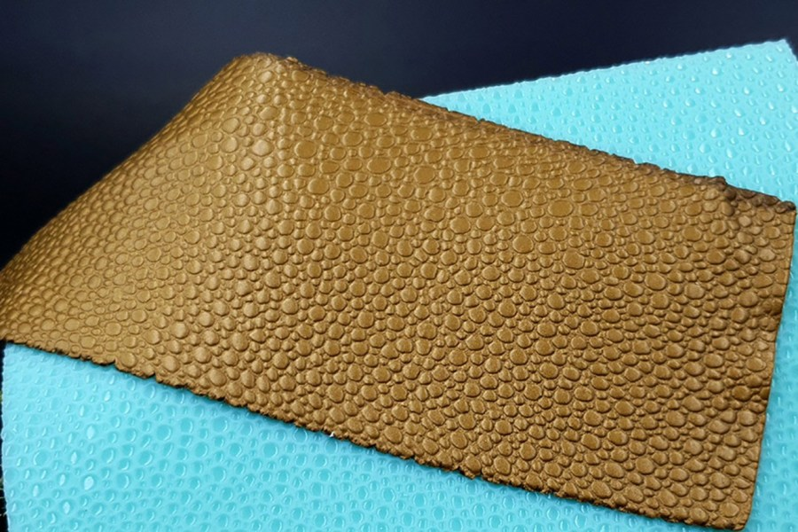 Water Drops Leather - Silicone Texture, Small Size 2