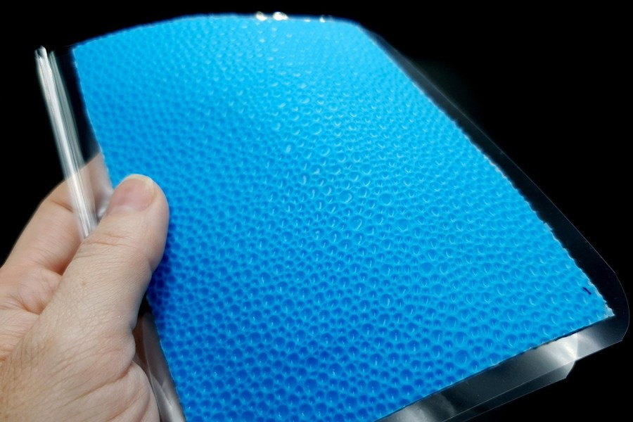 Water Drops Leather - Silicone Texture, Small Size 7