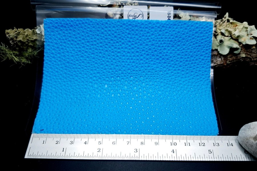 Water Drops Leather - Silicone Texture, Small Size 6