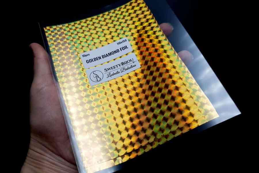 Golden Diamond Foil (10 pcs) 5