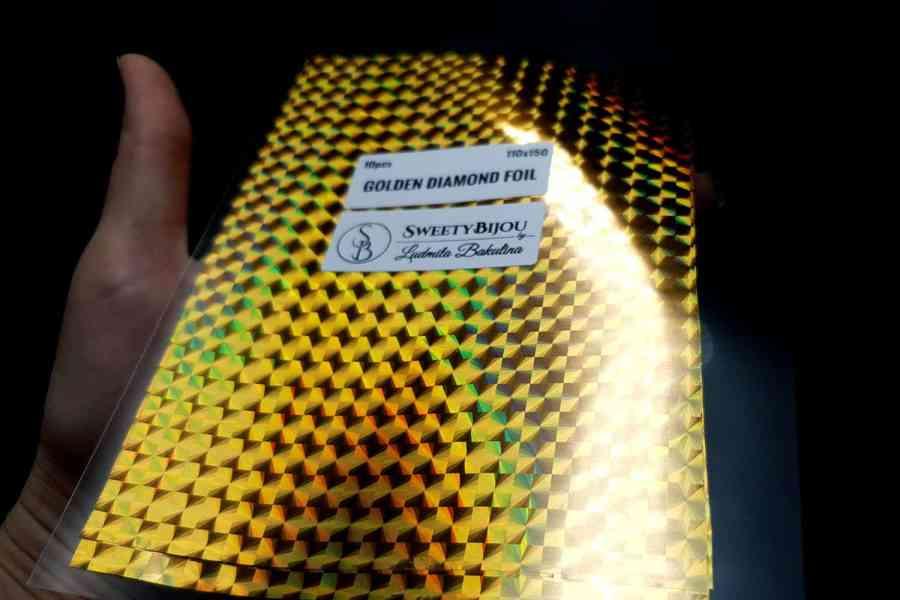 Golden Diamond Foil (10 pcs) 8