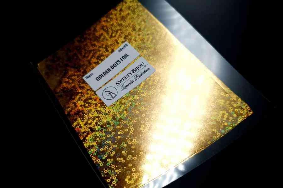 Golden Dots Foil (10 pcs) 5