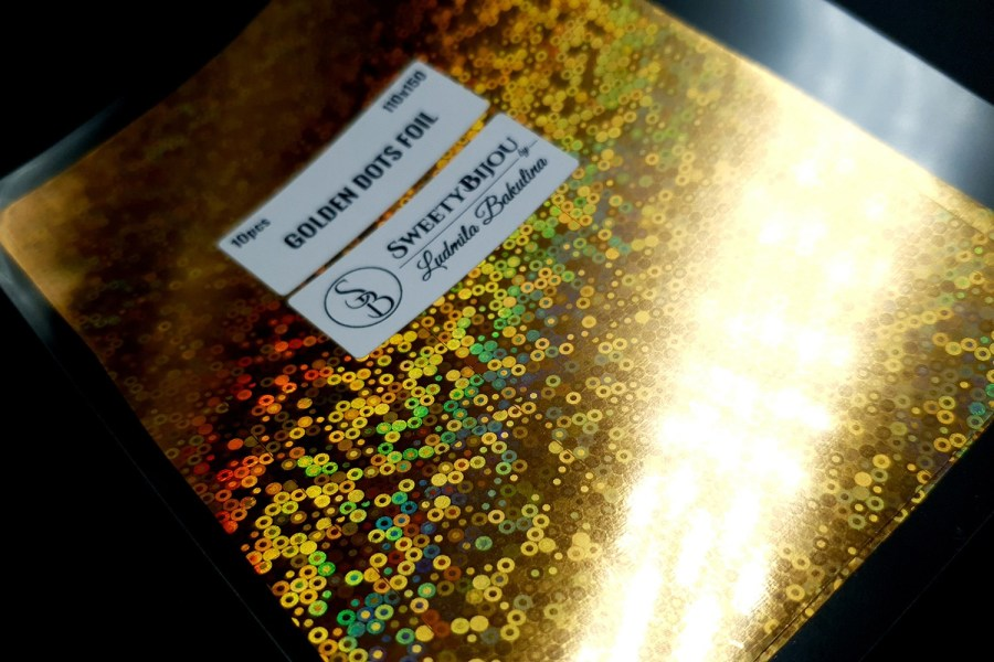 Golden Dots Foil (10 pcs) 7