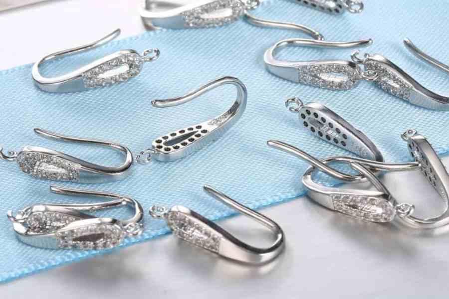Crystal Earrings Findings - Elegant Drops - 2 pcs 3