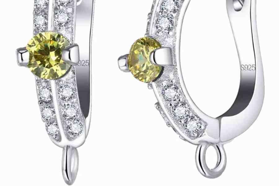 """Earrings Findings """"Elegant Drops"""" (1 pair) 5"""