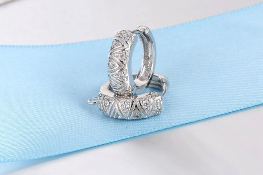 "High Quality Earring Findings ""Elegant Style"" 2 pcs 2"