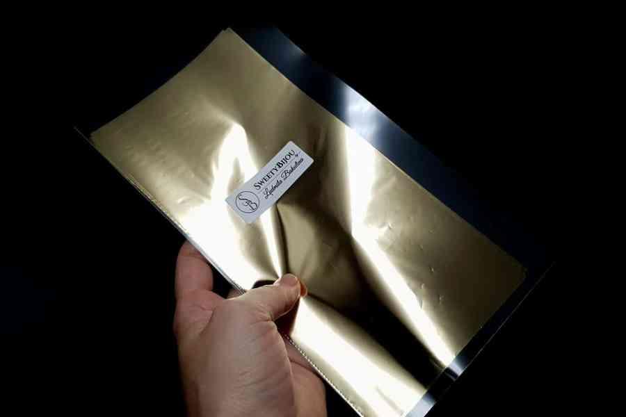 Light Gold Foil (10 pcs) 1