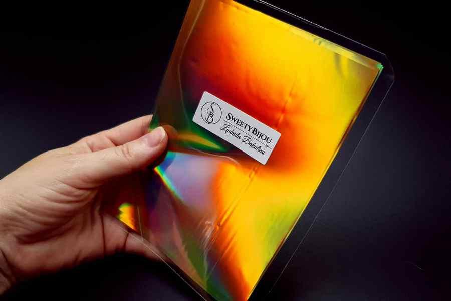Ammolite Effect Foil (110x140mm, 15 pcs) 7