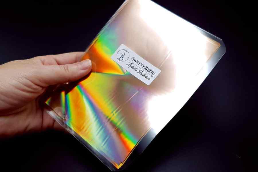 Ammolite Effect Foil (110x140mm, 15 pcs) 8