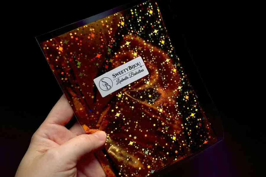 Gold Stars Foil (10 pcs) 5