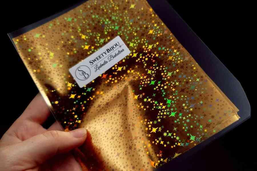 Gold Stars Foil (10 pcs) 6