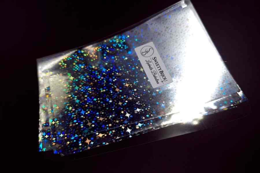 Silver Stars Foil (10 pcs) 5