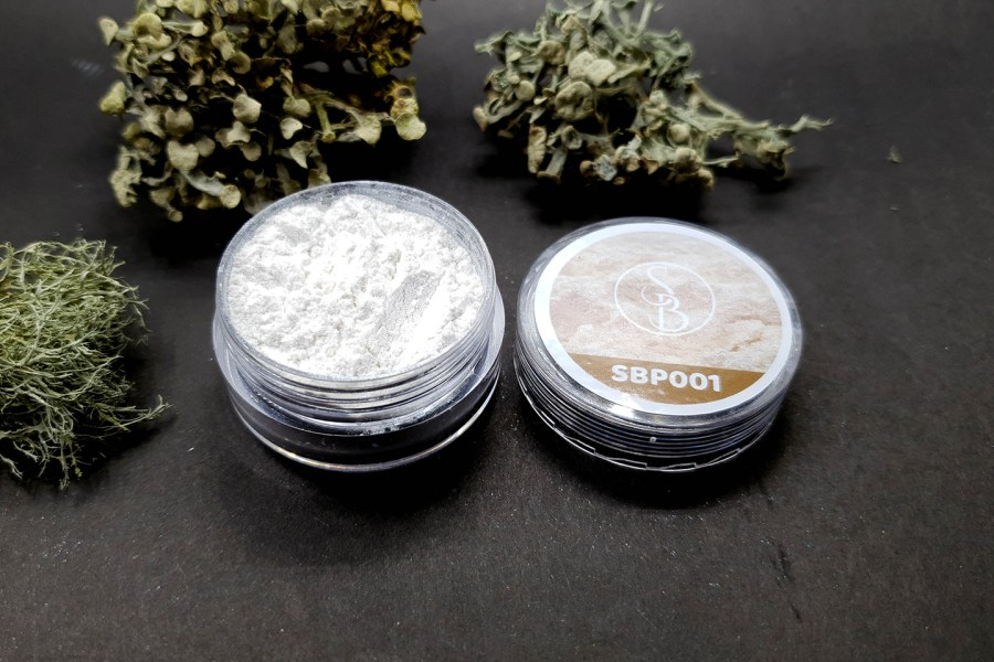Metallic Powder - White Pearl 2