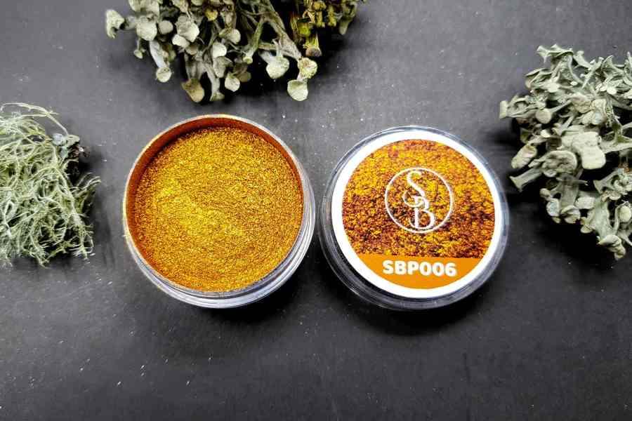 Metallic Powder - Sterling Gold 1