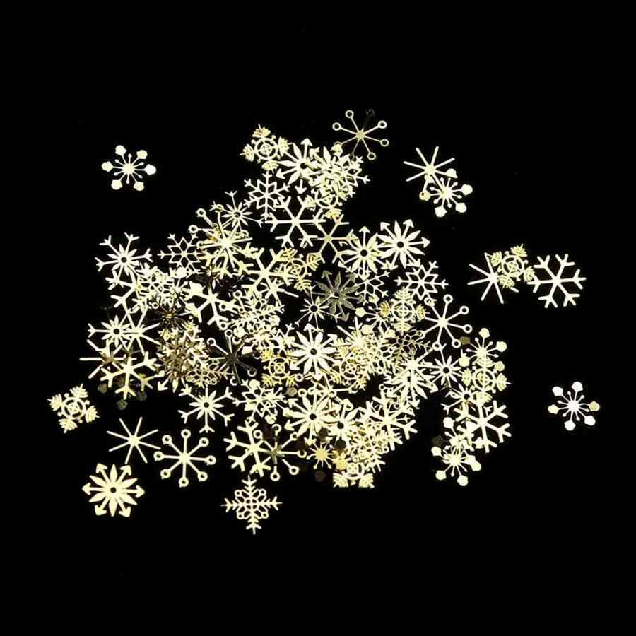 Mix Snowflakes Metal Slice 1