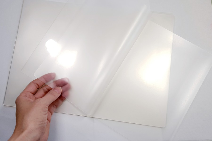 Thick Double Plastic Sheets (5Pcs) for Storage Polymer Clay Work 6