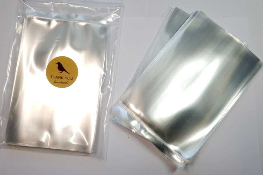 Thick OPP Plastic Bags 4x6 (50 pcs) 15