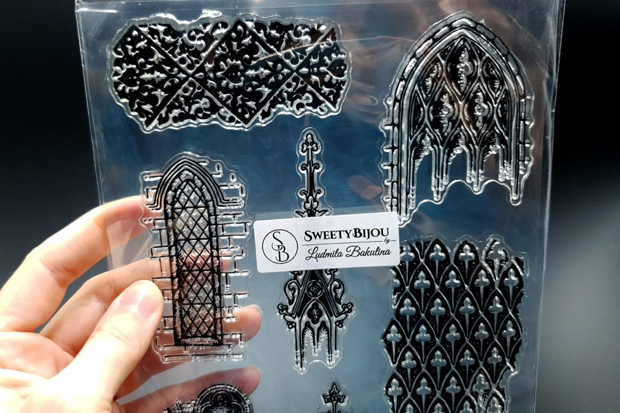 Moroccan Style 1 - Silicone Stamp 2