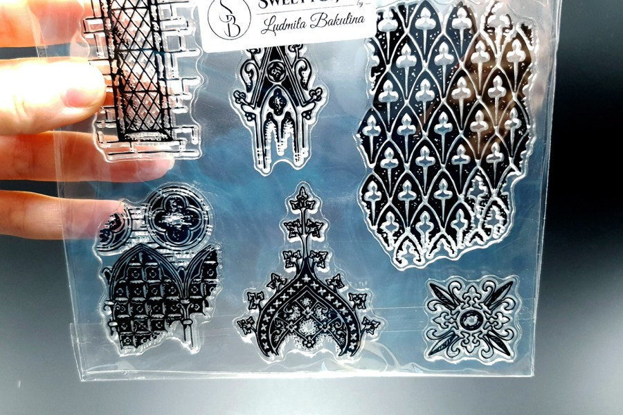 Moroccan Style 1 - Silicone Stamp 3