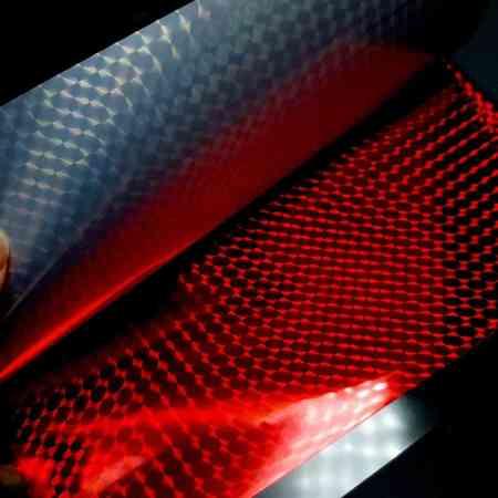 Red Square Net Foil (10 pcs)