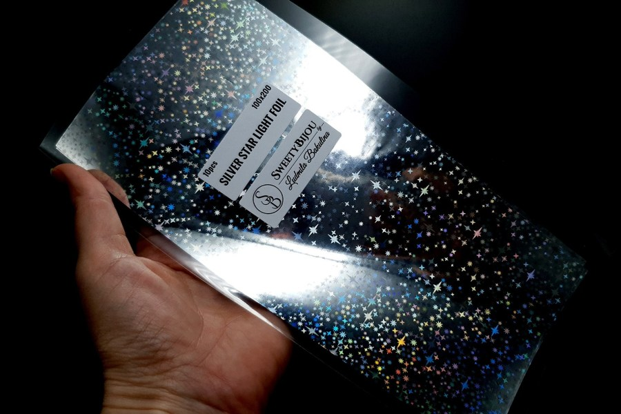 Silver Star Light Foil (10 pcs) 2