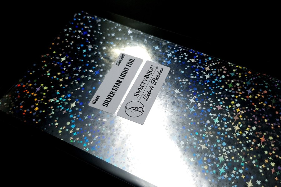 Silver Star Light Foil (10 pcs) 4