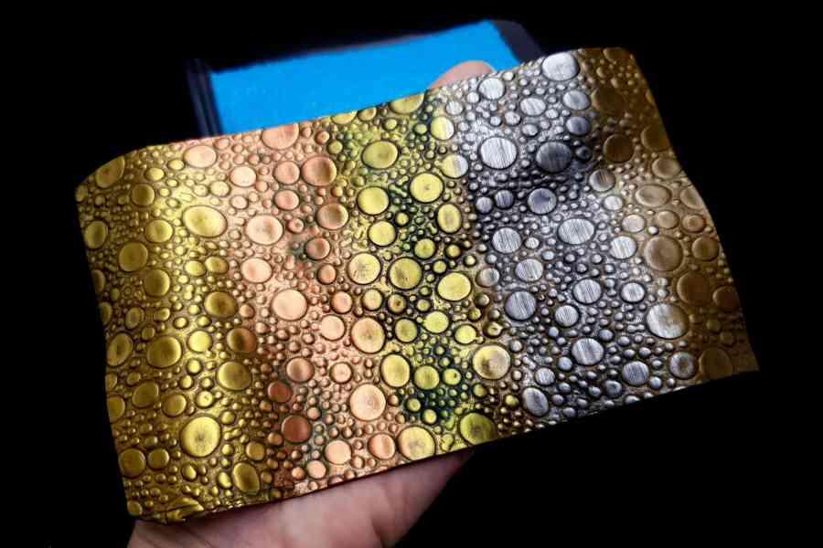 Soap Bubbles Silicone Texture 1