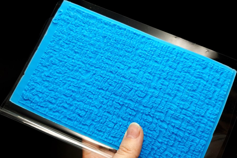 Woven Cloth Silicone Texture 3