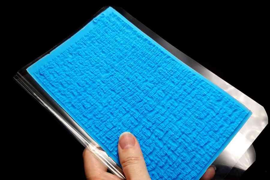 Woven Cloth Silicone Texture 4
