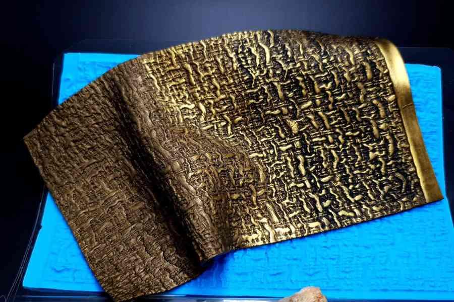 Woven Cloth Silicone Texture 10