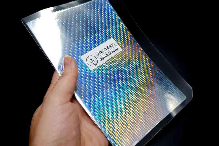 Rainbow Rain Foils (10 pcs) -80x160mm 2
