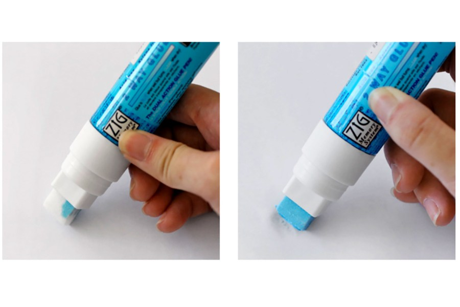 2 Way Adhesive Glue Marker - Broad 8