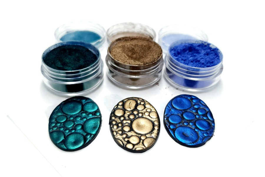 The Nature - Set of 3 Pigment powders 9