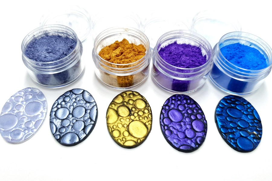 Ocean Sunset - Set of 4 Pigment powders 3