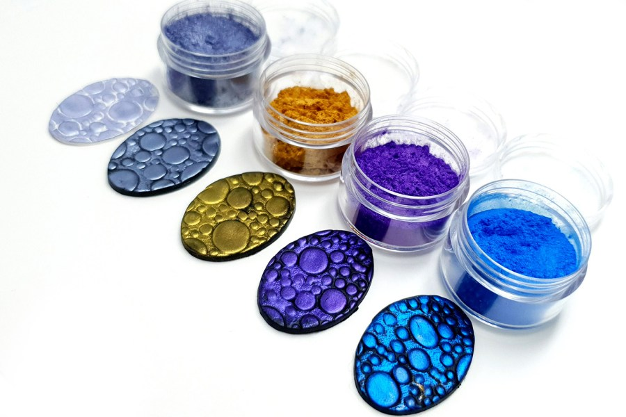 Ocean Sunset - Set of 4 Pigment powders 4