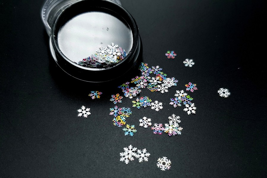 Colorful Snowflakes (30g) 1
