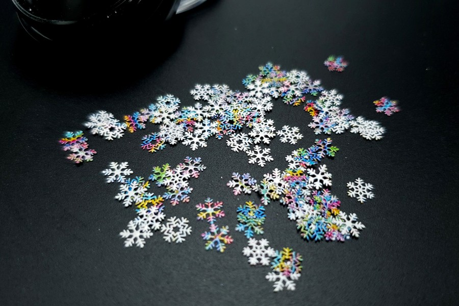 Colorful Snowflakes (30g) 5