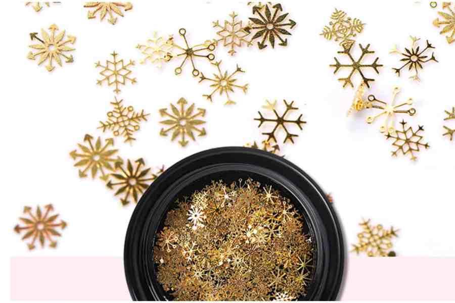 Golden Snowflakes (30g) 5