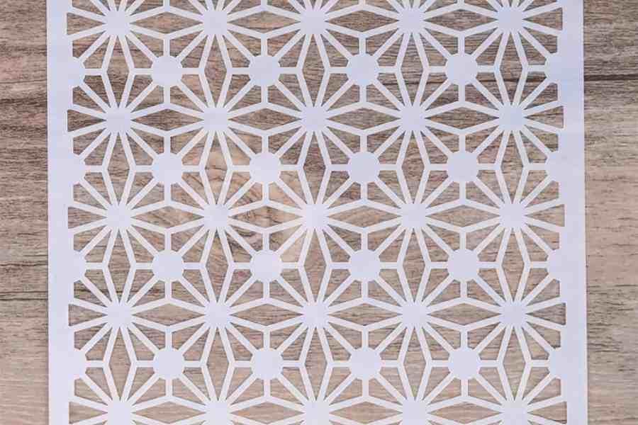 Morrocan Pattern Flowers (13x13cm) 4