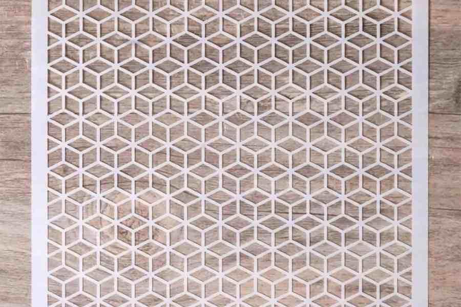 Geometric - Cubics (13x13cm) 3