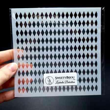 The Diamonds Pattern (13x13cm)