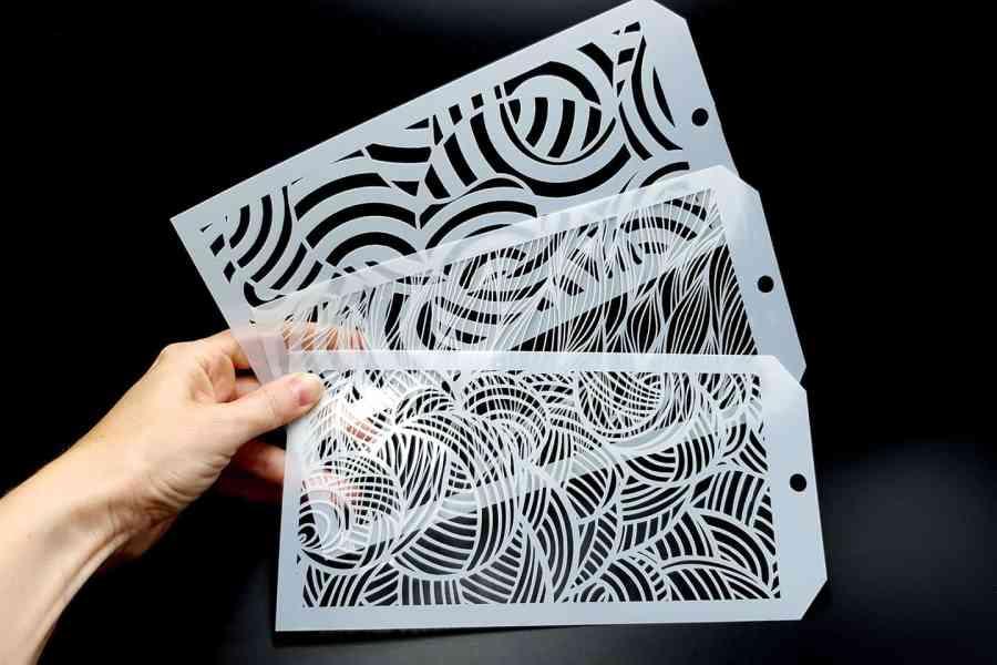 Set of 3 Illusions (12x24cm) 1