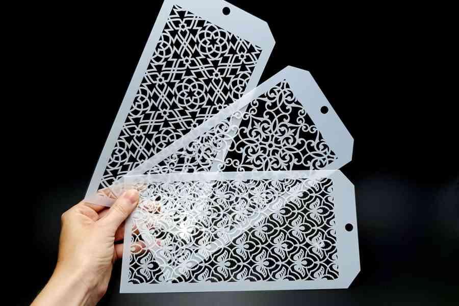 Set of 3 Magic Patterns (12x24cm) 2
