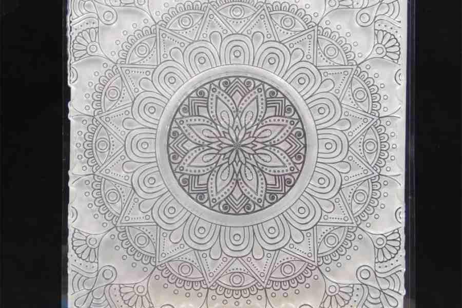 Mandala Flower Pattern (14.5x14.5cm)