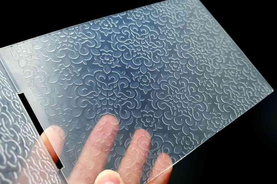 Flowers (12.5x12.8cm) - Plastic Textures 1