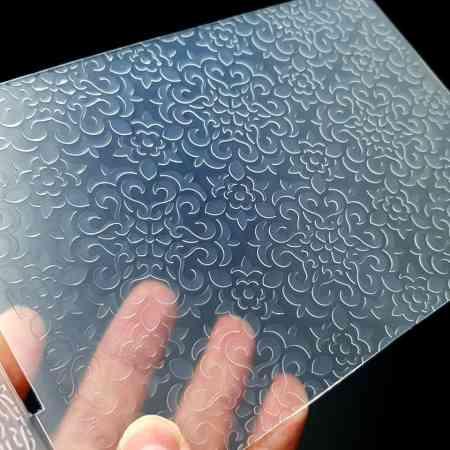 Flowers (12.5×12.8) – Plastic Texture