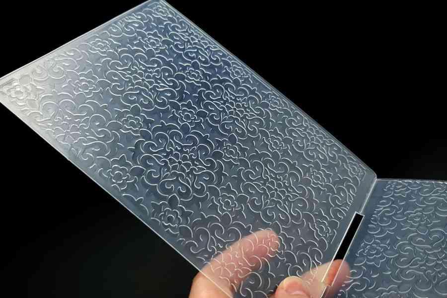 Flowers (12.5x12.8) - Plastic Texture 7