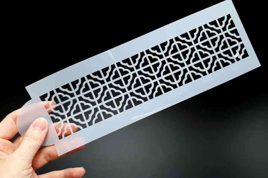Retro Flowers Pattern (26x8cm) 2